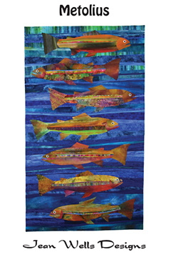 jean wells designs - metolius fish