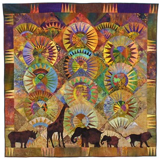 Africa Theme Fabric, Africa Quilting Fabric | Beautiful Quilt